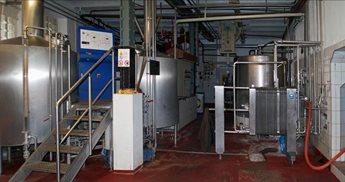 Brauerei Klosterbrau - La sala di cottura