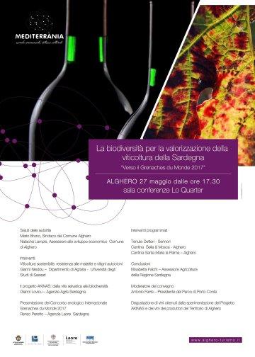 La biodiversità per la valorizzazione della viticoltura in Sardegna