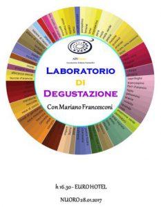 Laboratorio di Degustazione a Nuoro
