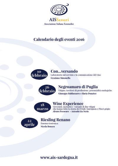 Incontri di approfondimento sul vino a Sassari