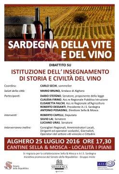 Sardegna della vite e del vino