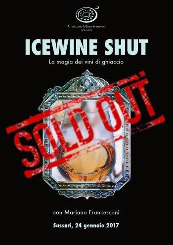 Icewine Shut