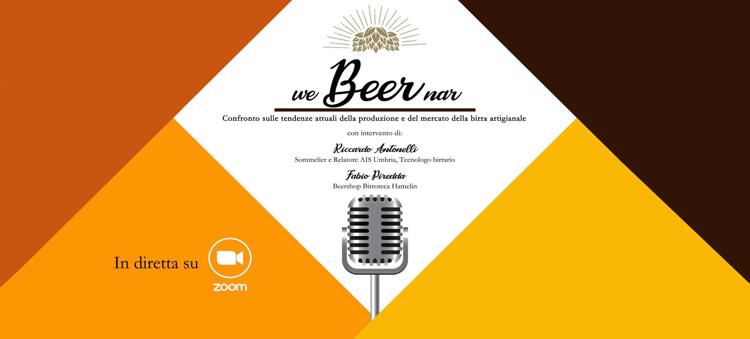 WeBeerNar – Confronto sulle tendenze attuali della produzione e del mercato della birra artigianale
